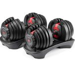 Bowflex Selecttech 552 Two Adjustable Dumbbells