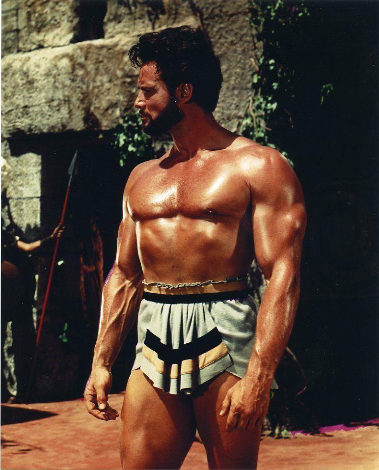 Steve Reeves Hercules on 1950s wife