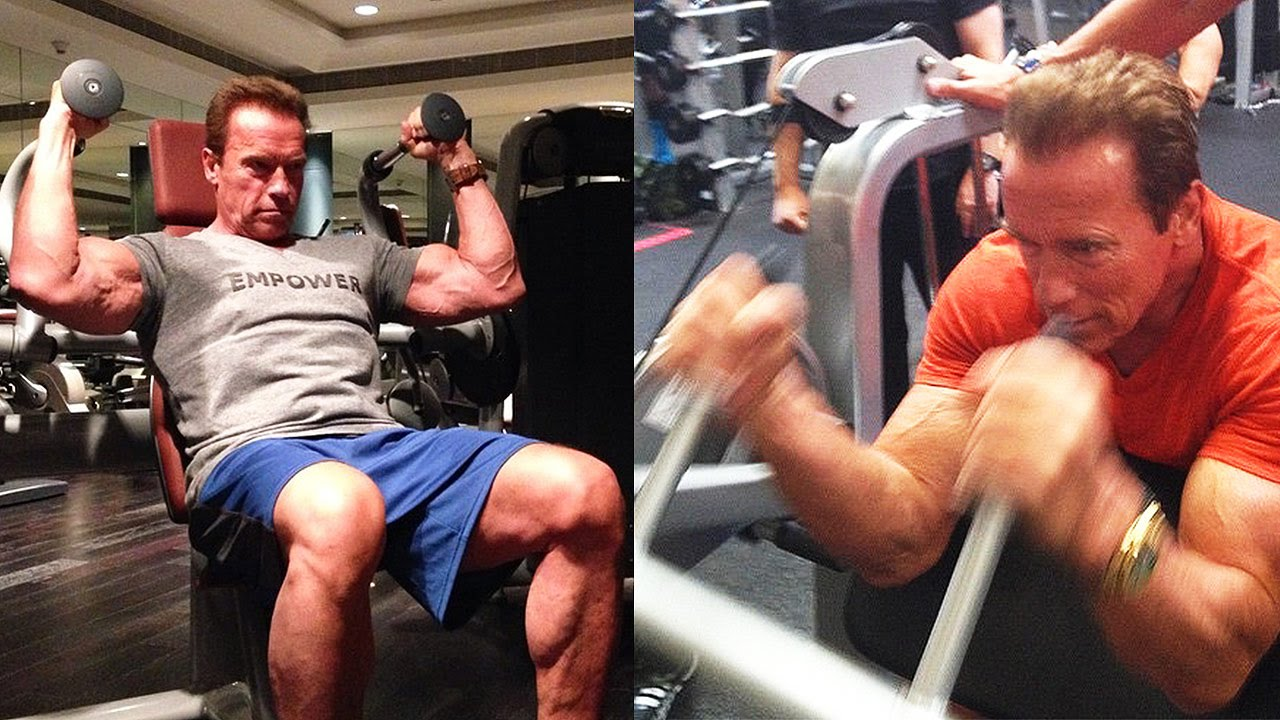 68 Years Old Arnold Schwarzenegger Training – Fitness Volt ...