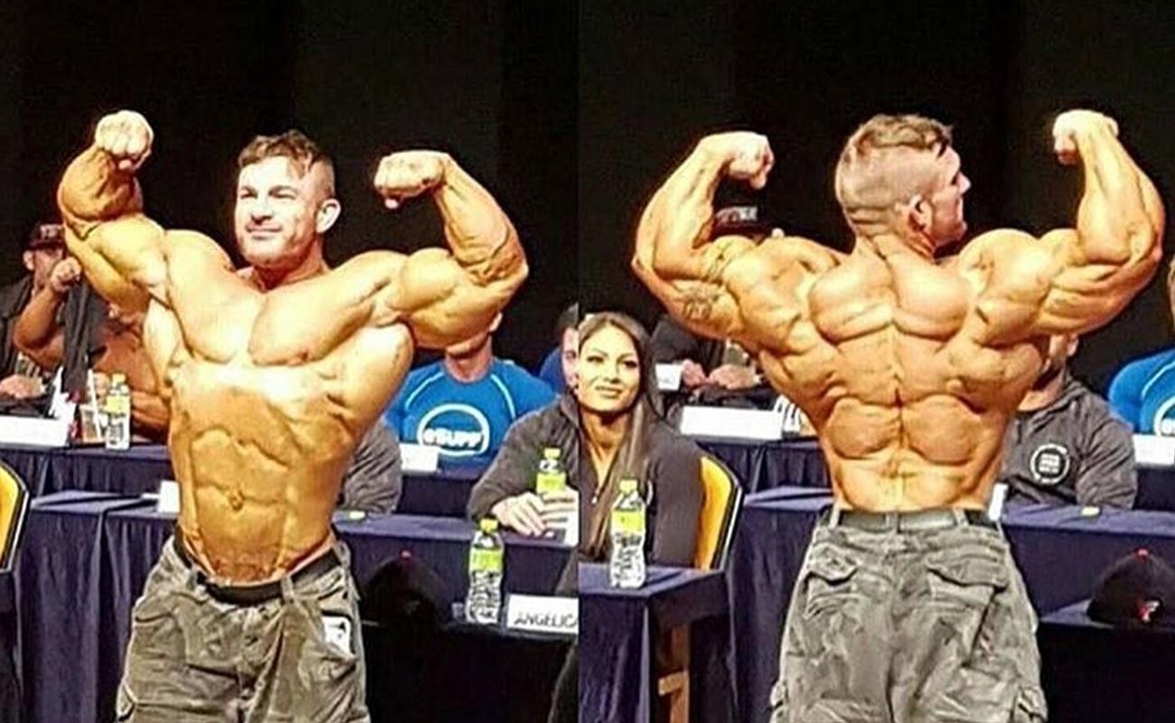 Flex Lewis Back Has Packs – Fitness Volt Bodybuilding ...