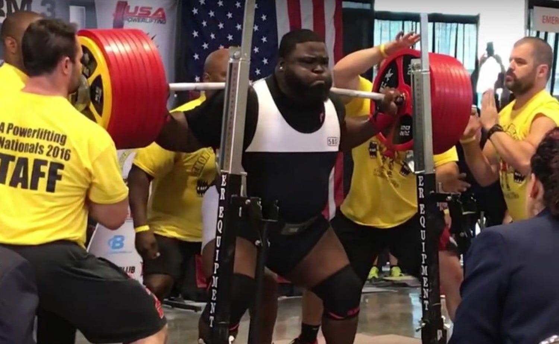 Watch Ray Williams Set 1 005 Pound Raw Squat Record – Fitness Volt
