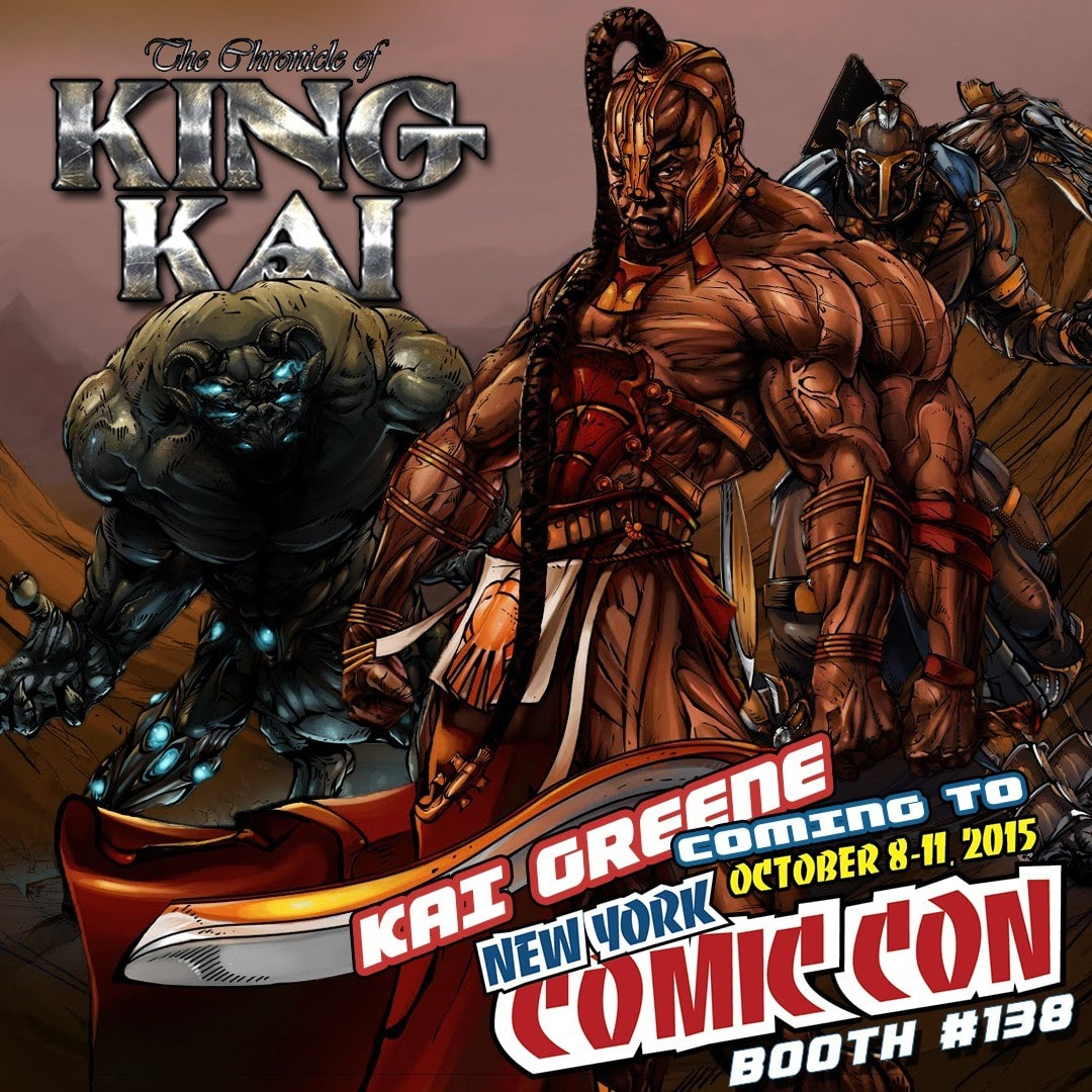 Watch kai greene debuts chronicles of king kai series for Kai greene painting