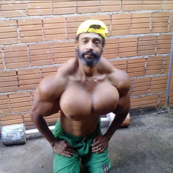 "Watch 'Bodybuilder' Synthol Freak Valdir Segato, ""I Want ..."