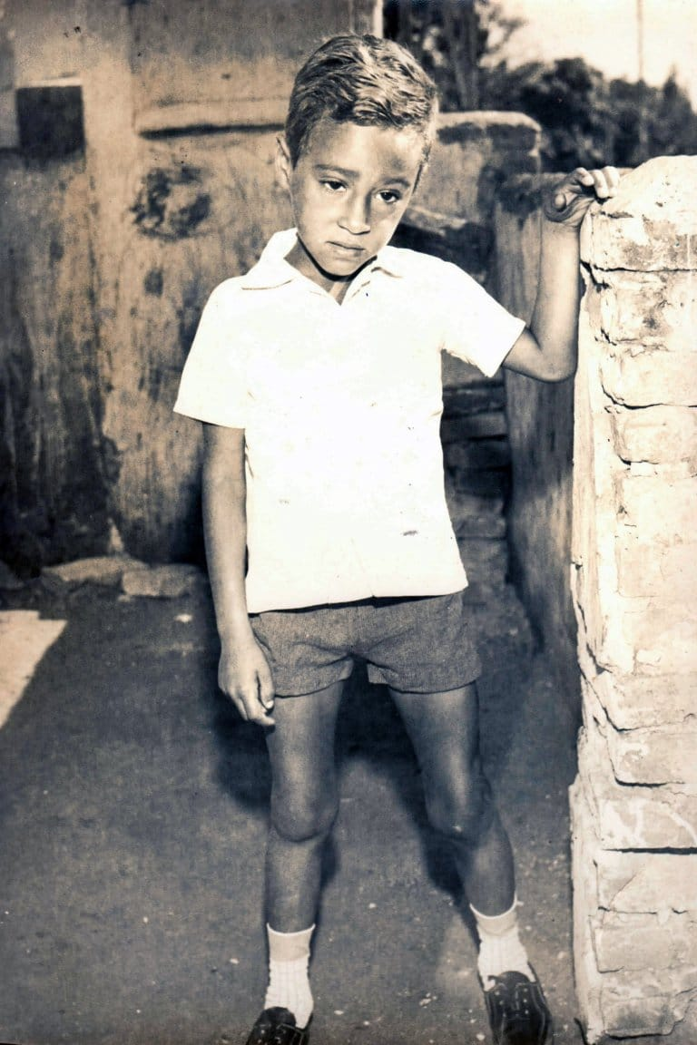 Valdir pictured as a child (Picture: Barcroft)