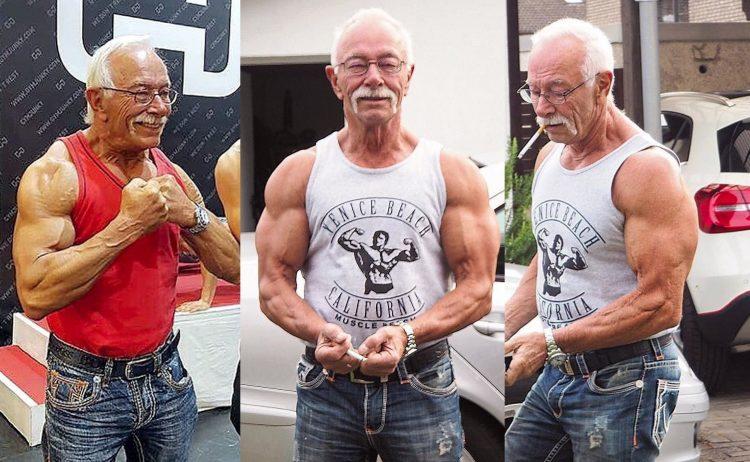 Heinz-Werner Bongard German bodybuilder