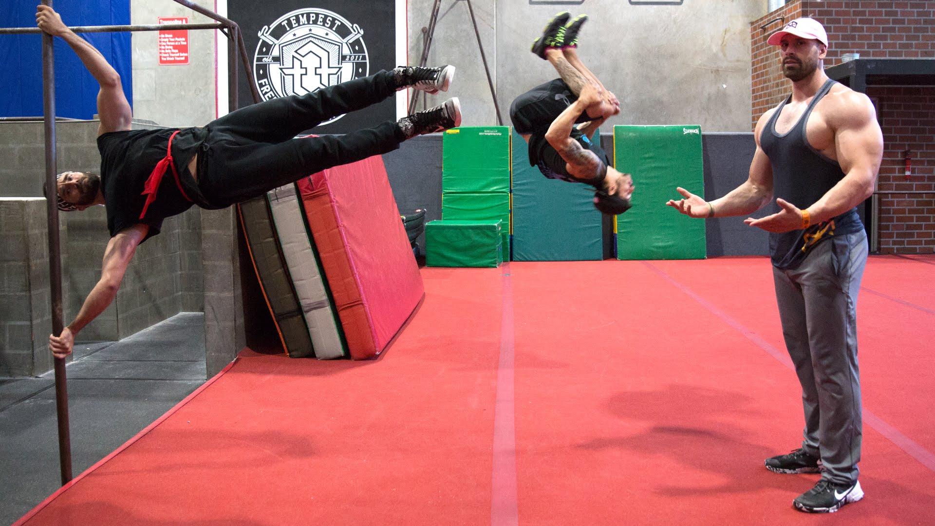 Watch Bradley Martyn Vs American Ninja Warrior Fitness