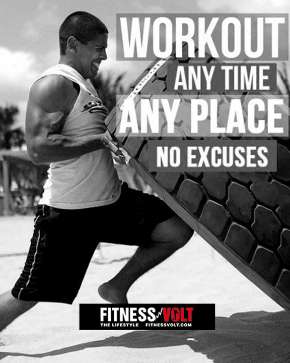No Excuses! Fitness #quotes #motivation – Fitness Volt ...