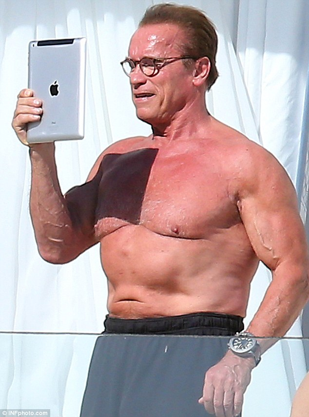 Even Arnold Schwarzenegger has body issues.