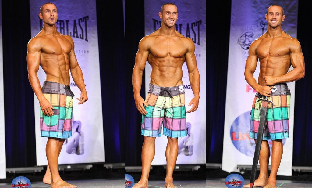 Bradley Martyn, physique contest winner of the 2011 NPC Southern California Championships