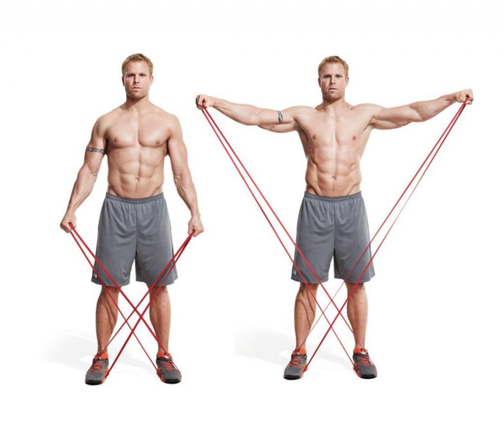 Band Lateral Raise