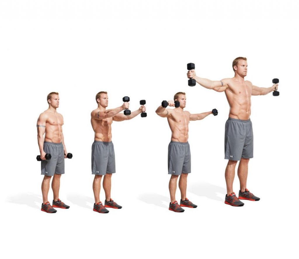 Dumbbell Raise Complex