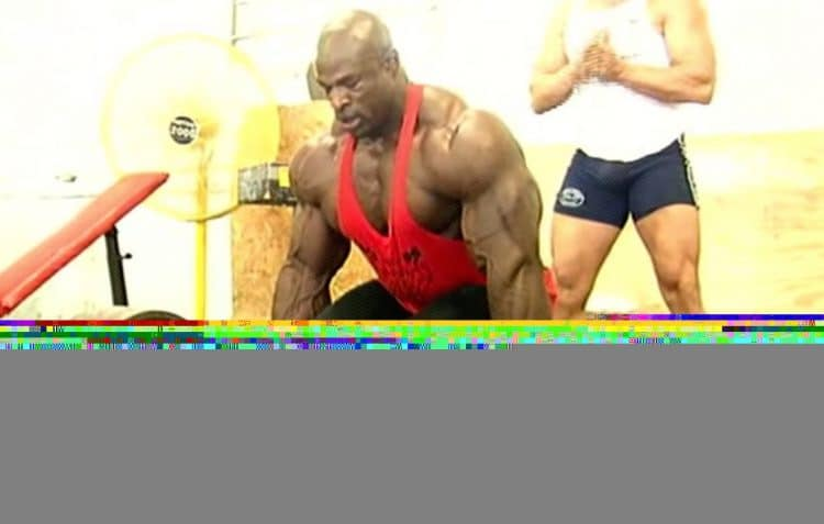 Ronnie Coleman Deadlifted 800lbs
