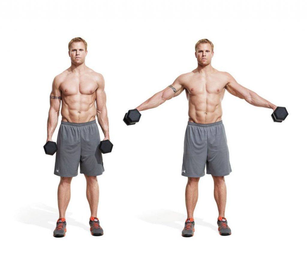 Standing Dumbbell Fly