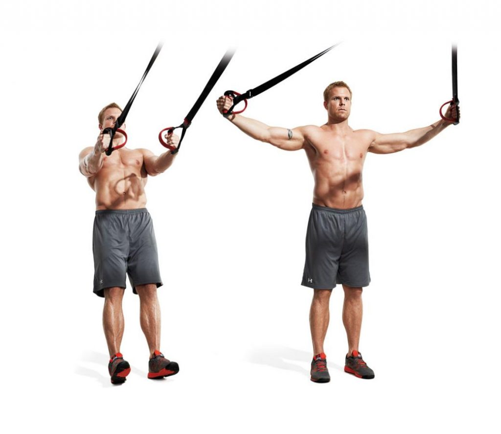 Suspension Trainer Rear-Delt Raise
