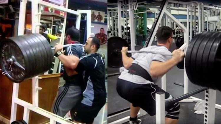 The Worst Squat Ever