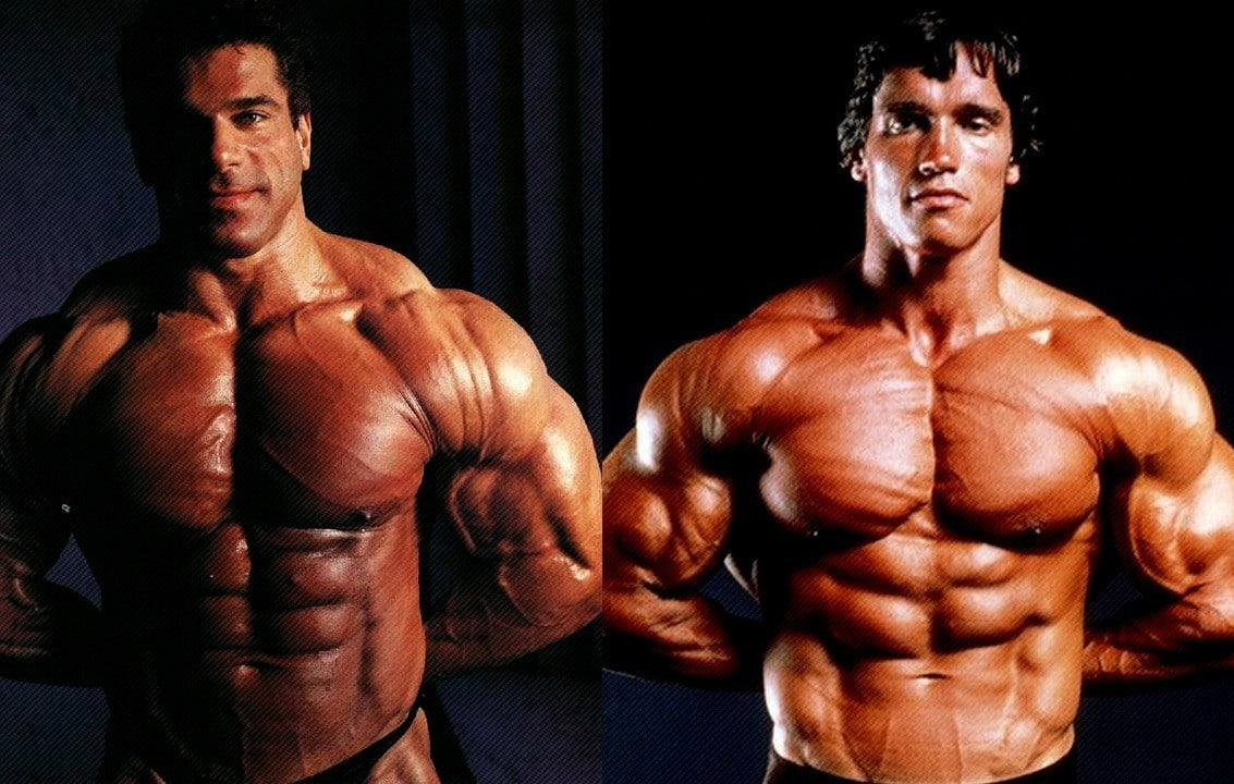 WATCH: Arnold Schwarzenegger vs Lou Ferrigno Comparisons – Fitness Volt