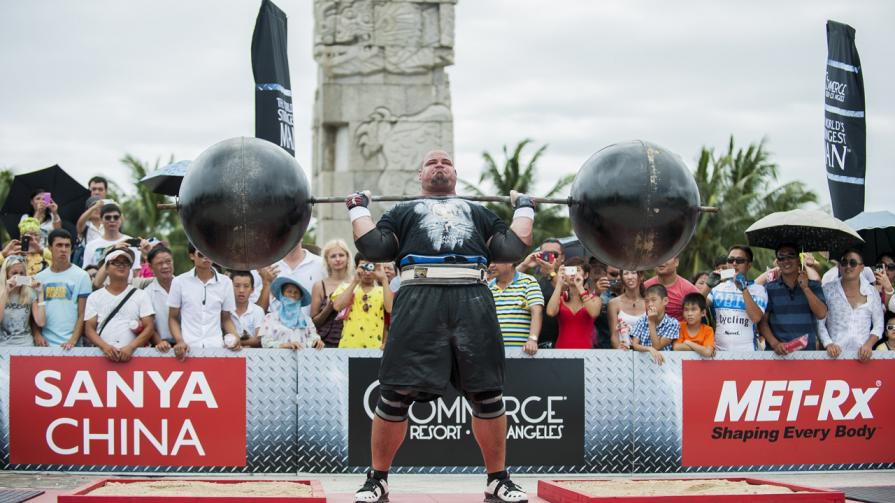 Watch: Brian Shaw World's Strongest Man Sets Rowing Record – Fitness Volt