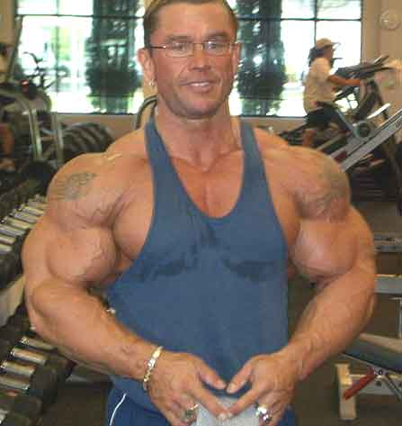 Lee Priest Before The 2002 Olympia