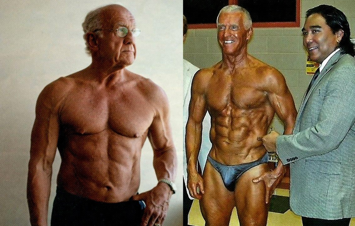WATCH: Ripped Bodybuilders Over 70 Years Old! – Fitness
