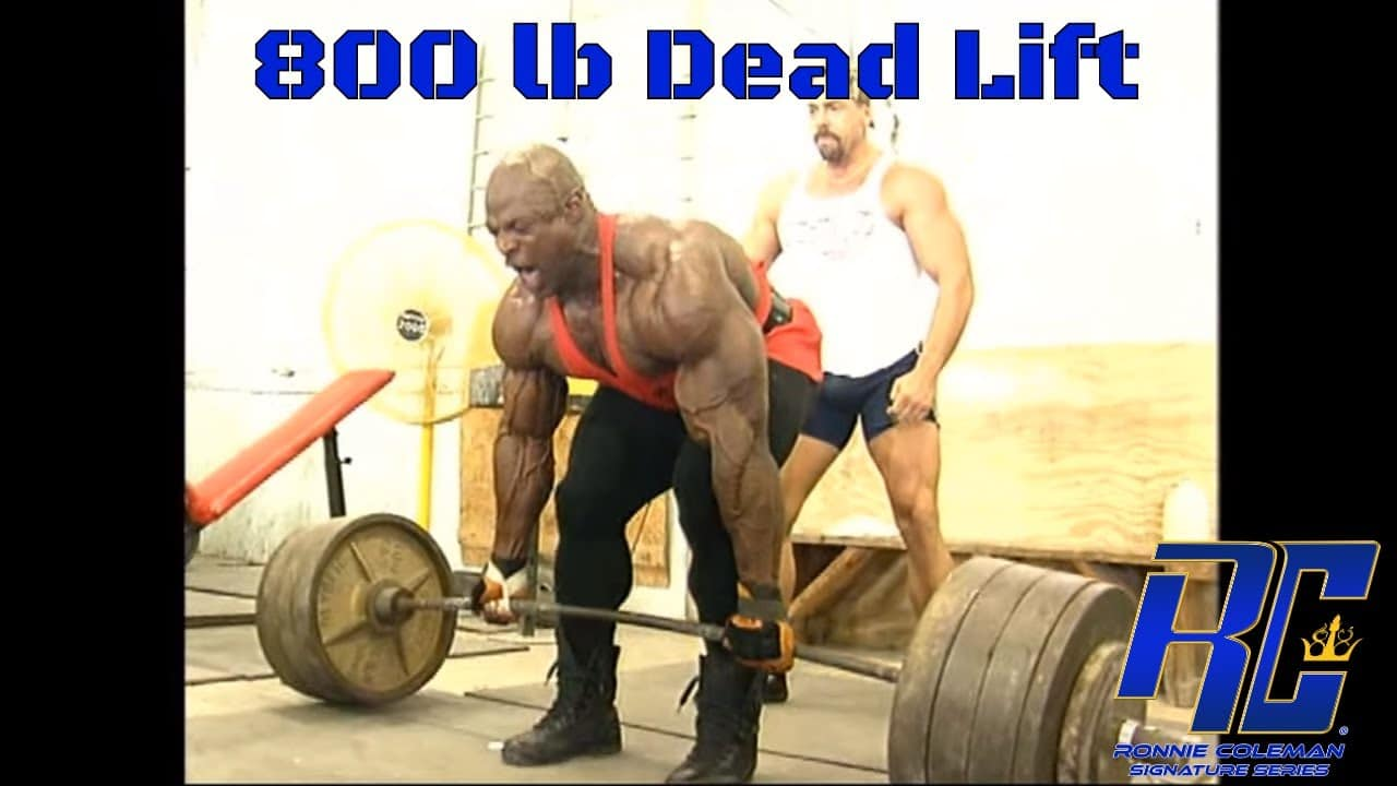 WATCH: Ronnie Coleman Deadlifted 800lbs Like It Was Nothing – Fitness Volt