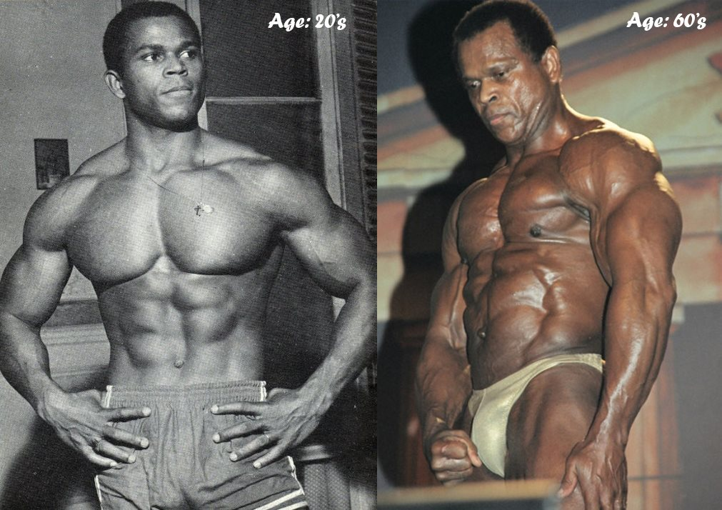 When I started training I said I want to be the youngest bodybuilder ever and the oldest to be able to guest pose at a world championship, (that's) what I did at 65 years old.