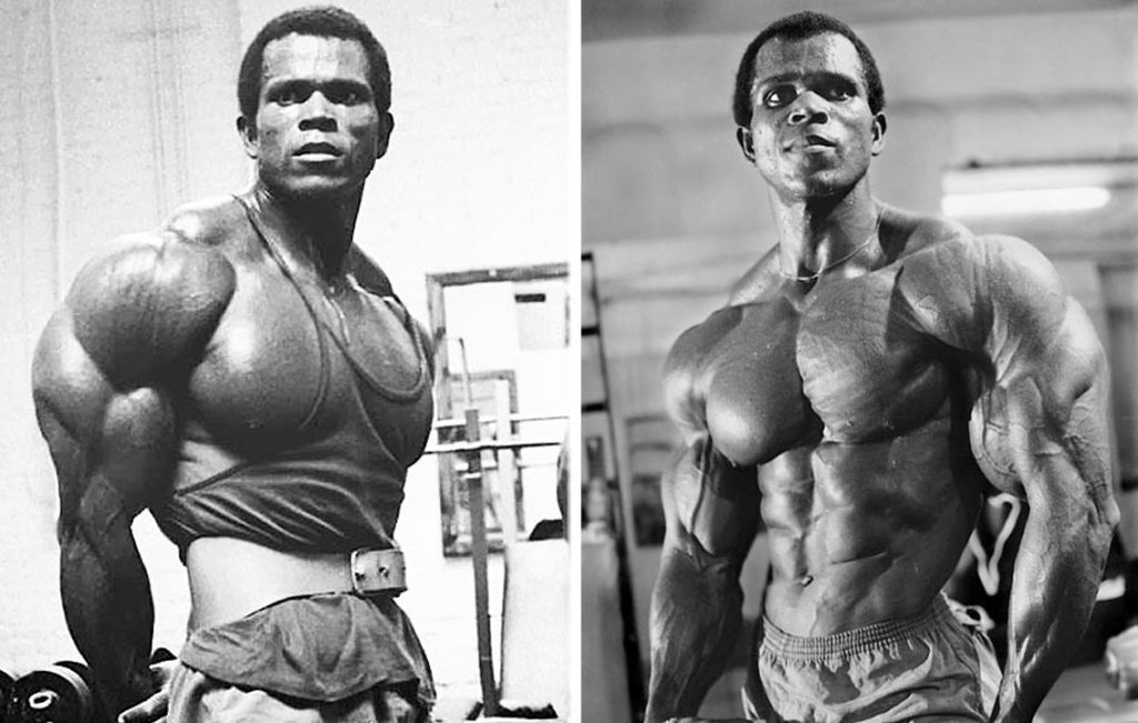 Serge Nubret's Workout