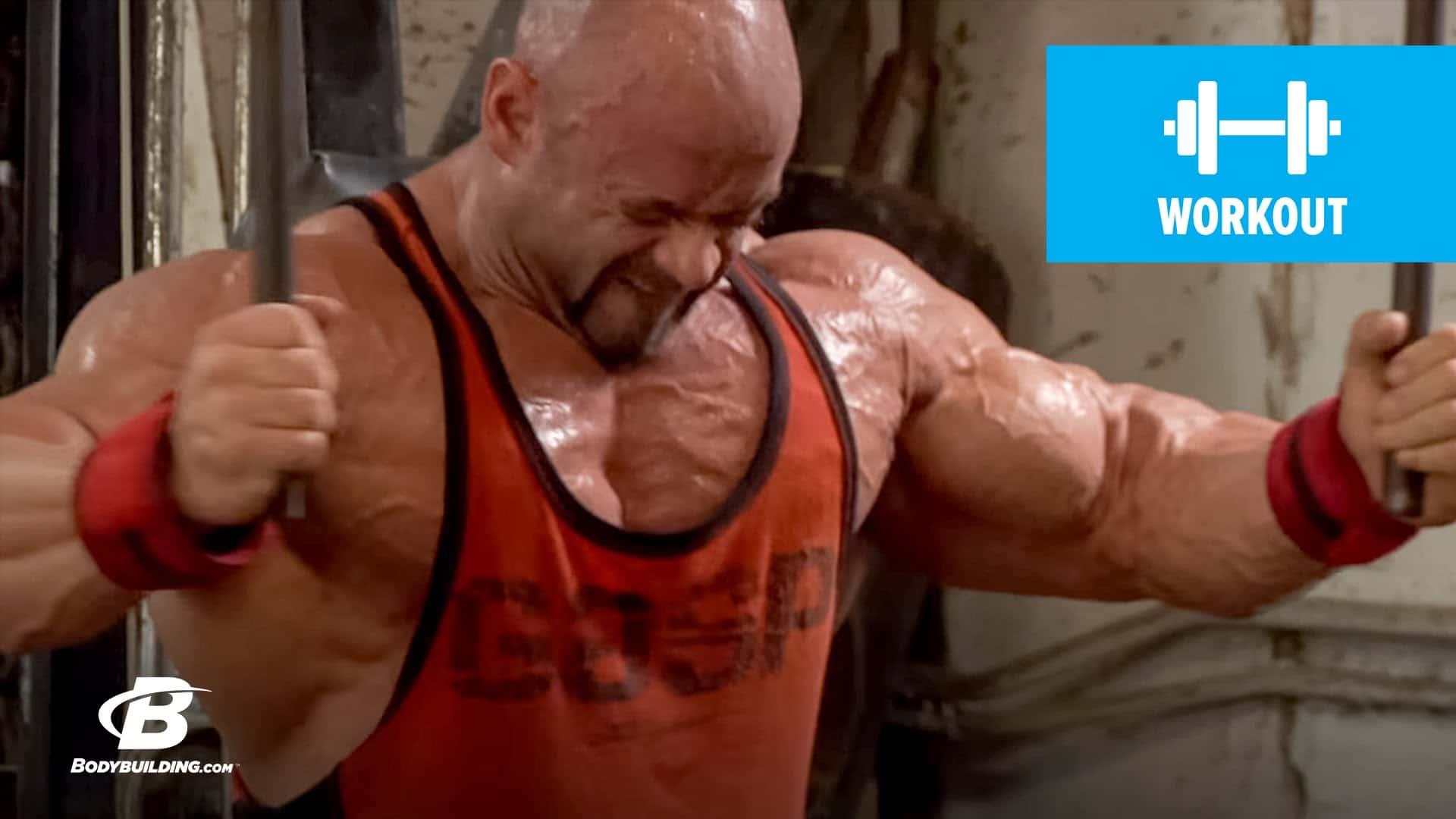 Throwback Branch Warrens Chest Workout For Mass Fitness Volt Bodybuilding News