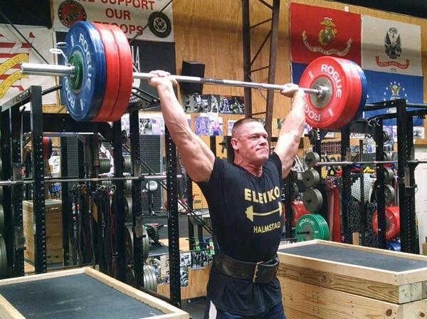 Watch john cena owns one of the most hardcore gyms in the - John cena gym image ...