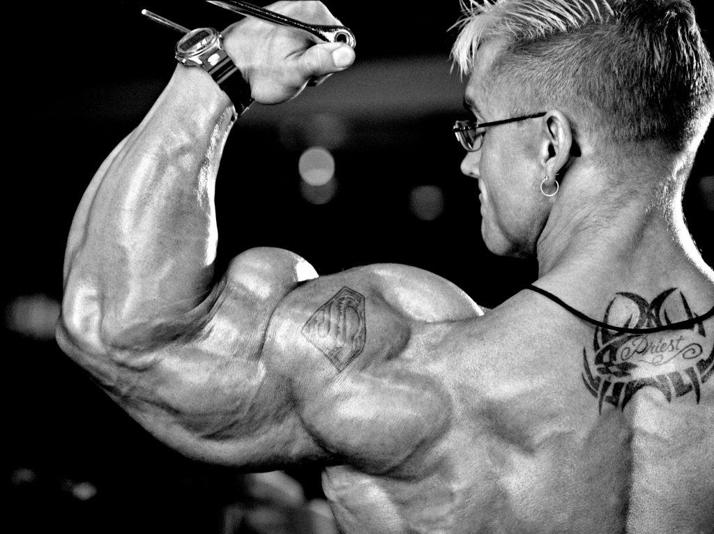 Image result for lee priest biceps