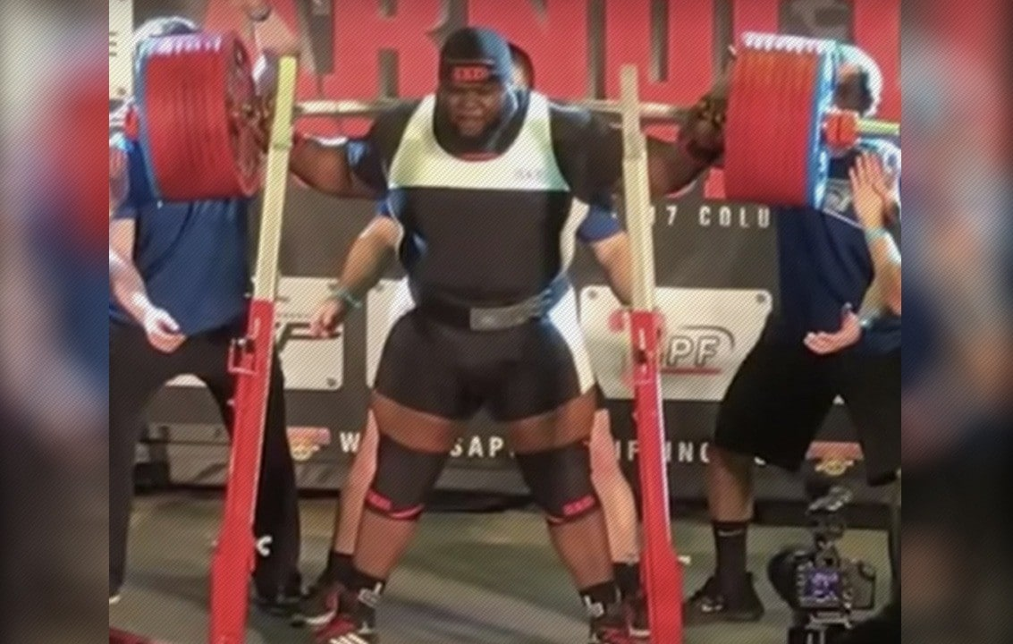 WATCH Ray Williams Squats 1053lb 477 5kg At Arnold Classic 2017