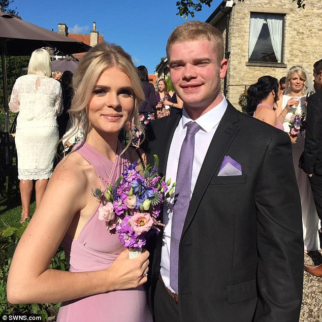 Mr Ryder, pictured with his sister Emma, was found slumped and unresponsive in his bedroom by his mother, who had told him just hours before to 'sort his life out'