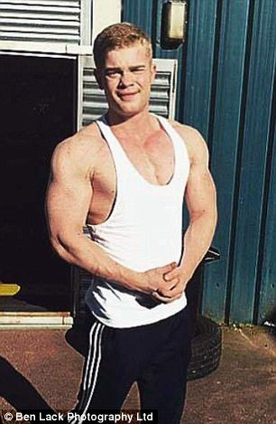 Robbie Ryder died in October after taking steroids believed to be form the dark web