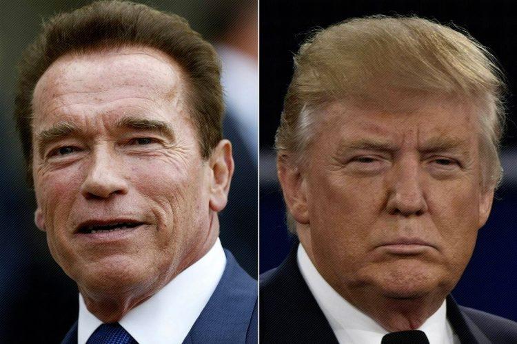 Trump on Schwarzenegger