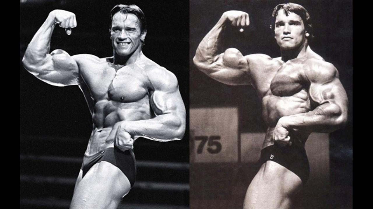 Watch Arnold Schwarzenegger 1975 Vs 1980 Mr Olympia