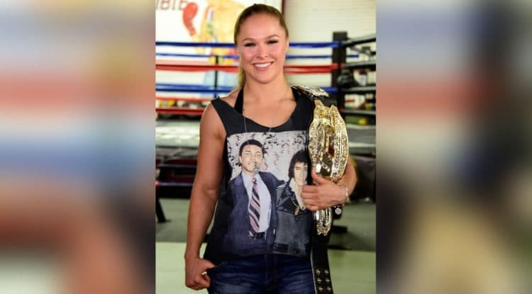 Ronda Rousey is engaged
