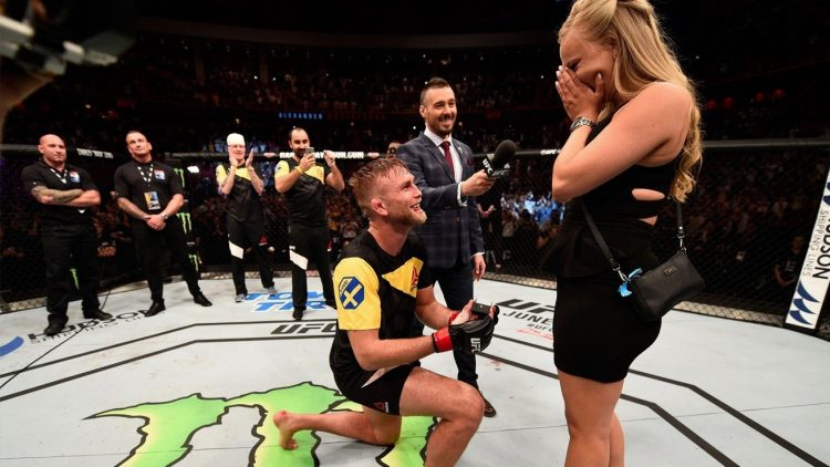 Alexander Gustafsson proposes to girlfriend after his KO win over Glover Teixeira