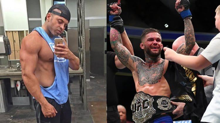 Bodybuilder books flight to fight Cody Garbrandt