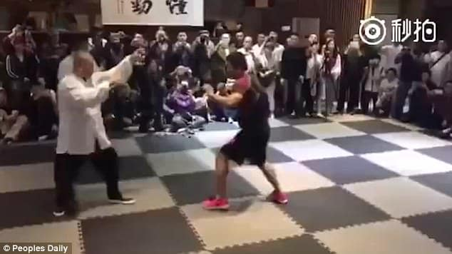 Mr Xu, an MMA coach, said Tai Chi is just a scam in martial arts with no combat fighting tactics