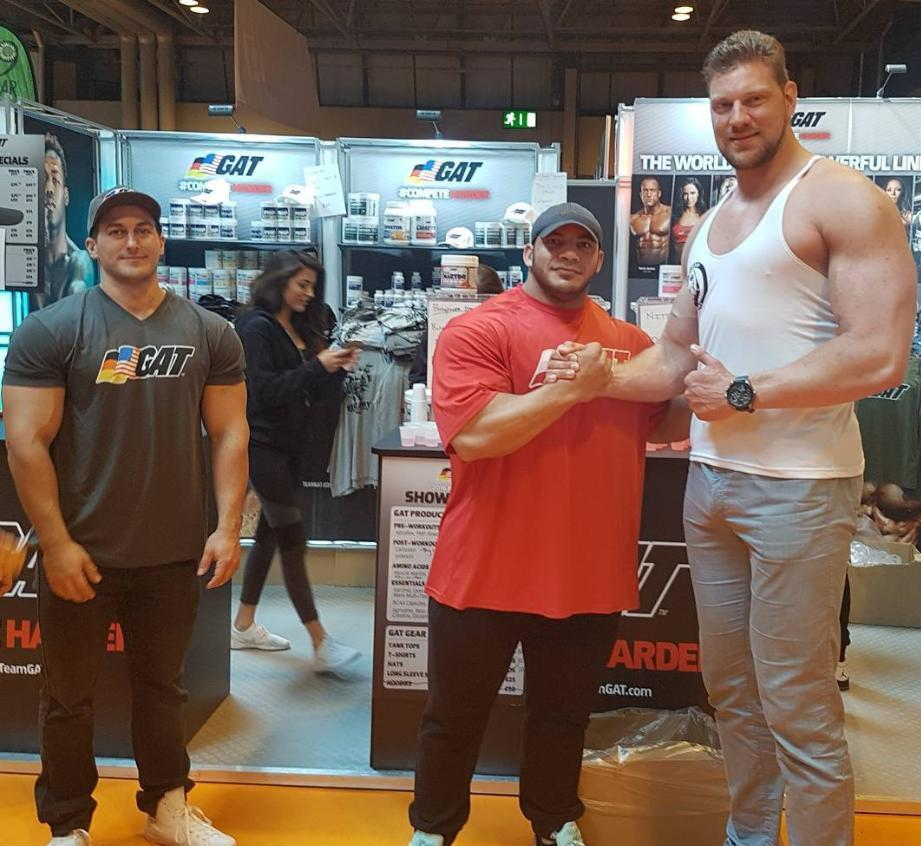 Olivier Richters with Big Ramy