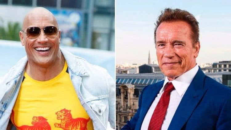 The Rock & Arnold Schwarzenegger