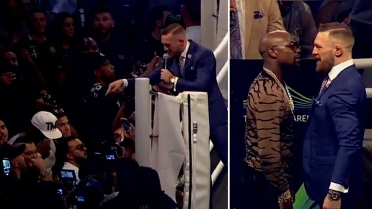 Conor McGregor DESTROYS Floyd Mayweather's Bodyguards