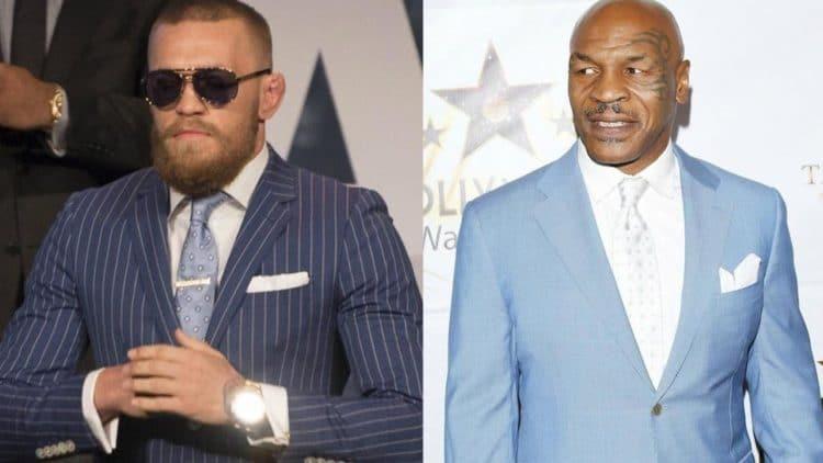 Conor McGregor Mike Tyson