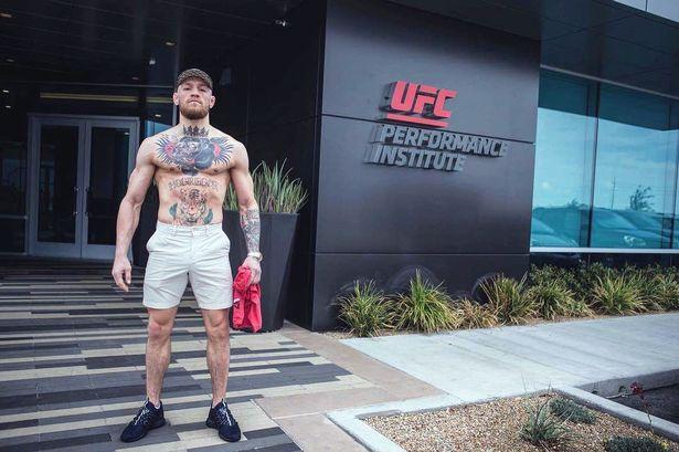 Conor McGregor at the UFC's Performance Institute