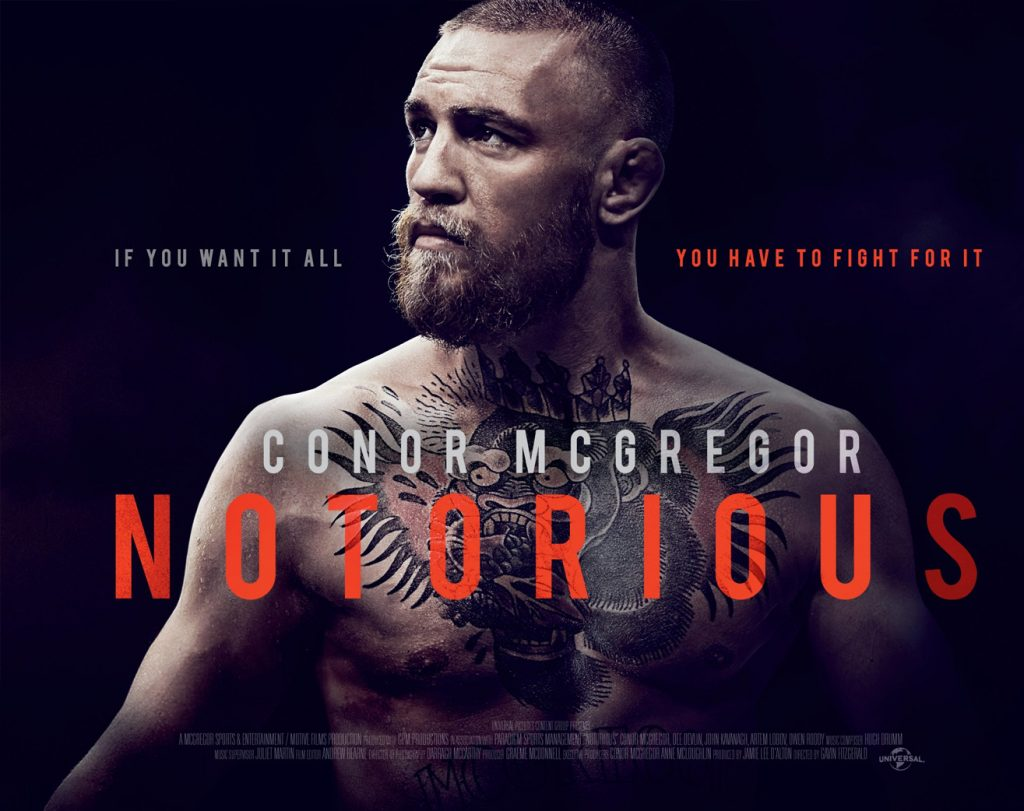 Conor Mcgregor Documentary 'Notorious