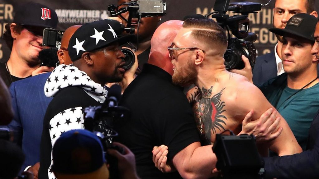 Floyd Mayweather vs Conor McGregor New York