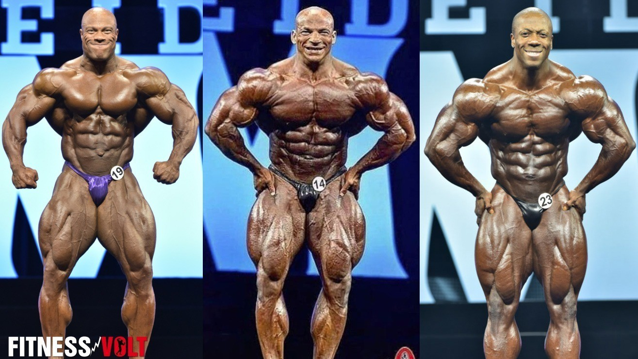 2017 Mr Olympia The 20 Competitors To Battle It Out For