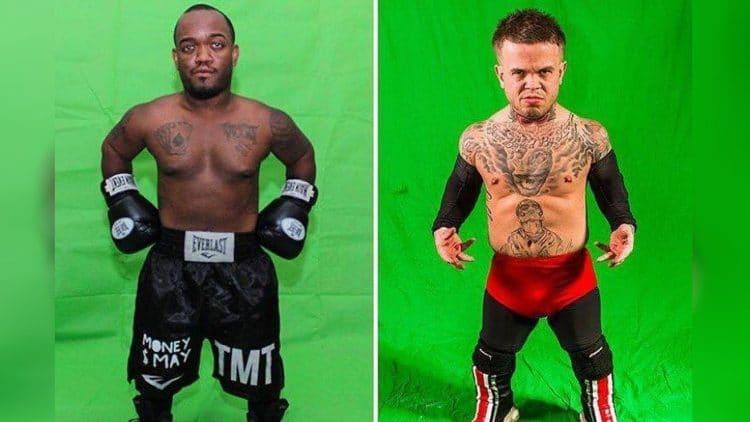 Mini-Mayweather vs Mini-McGregor