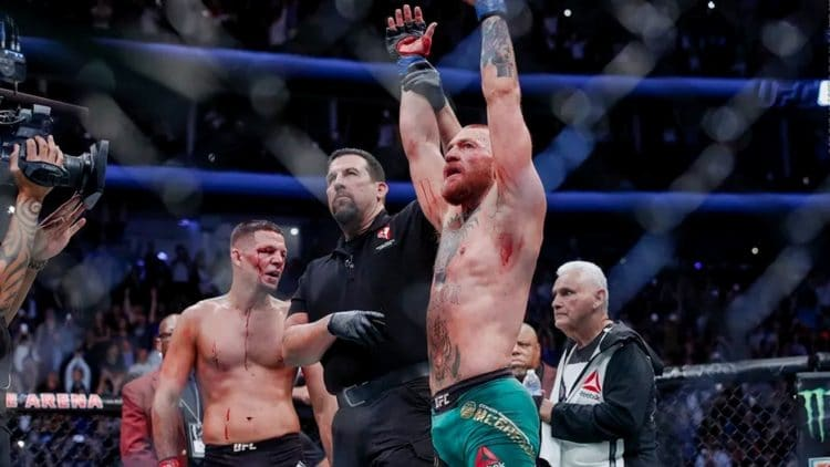 Conor McGregor Wants Nate Diaz at 155 Pounds