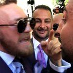 Conor McGregor And Paulie Malignaggi