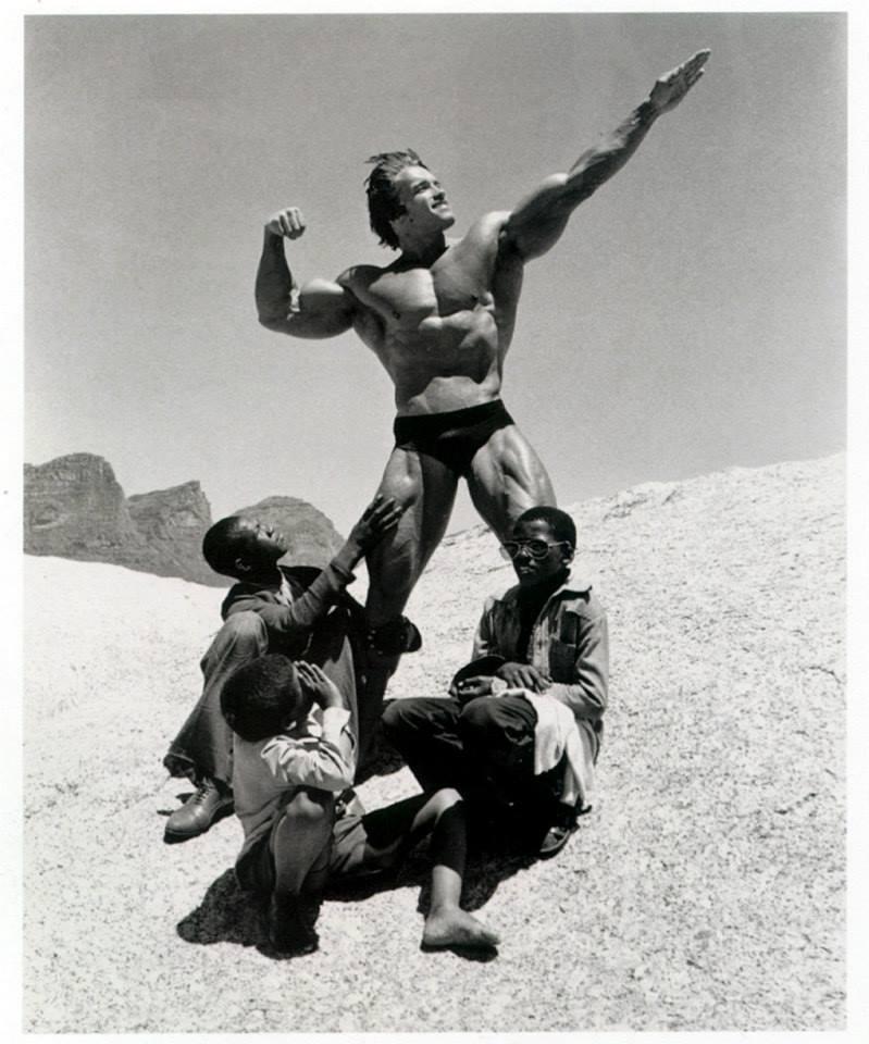 Arnold Schwarzenegger : Height | Weight | Arms | Chest ...
